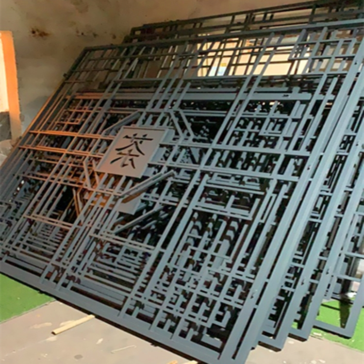铝合金四方管直销 匠铝中式铝窗花商家