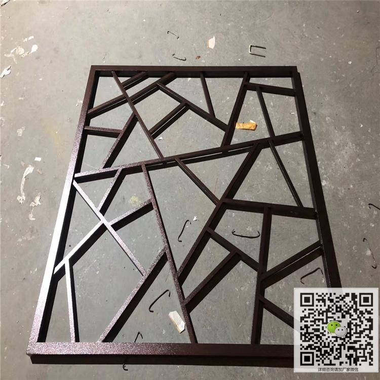 1.2厚仿古焊接铝合金仿古铝窗花批发