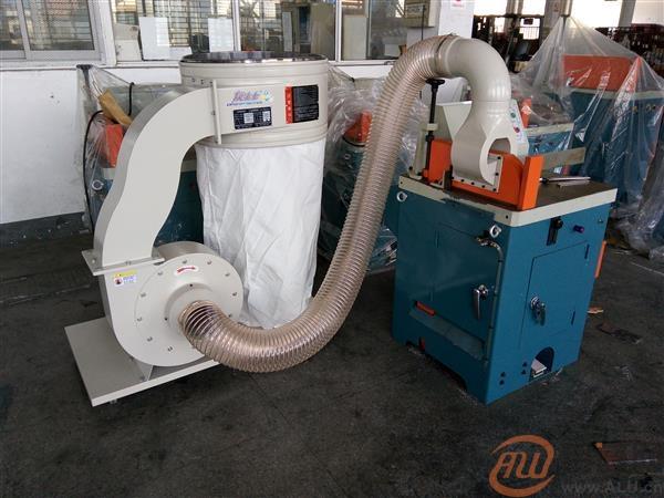 半自动快速切铝机配套工业吸屑机