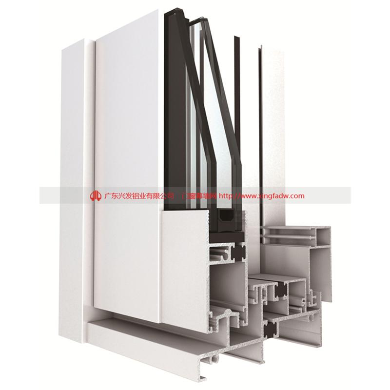 H100A系列100单轨隔热节能推拉门结构图.jpg
