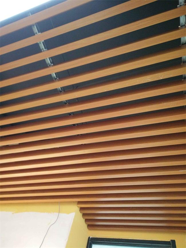 陕西电影院铝方通天花吊顶木纹铝方通厂