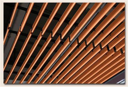 铝方通封盖-方通堵头材料-铝格栅天花