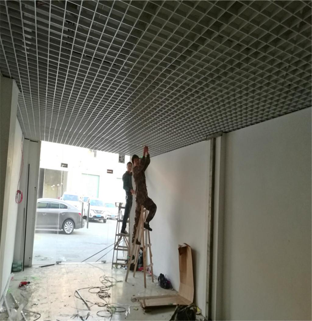 铝合金格栅片 铝格栅天花板