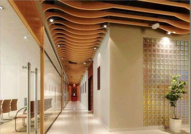 高端铝方通商场仿木纹铝方通吊顶装饰