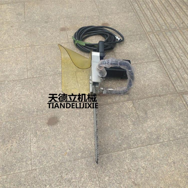 5kg) 电动链条式挖树机,使用寿命长,适合在有电源的地方使用,也可配备图片