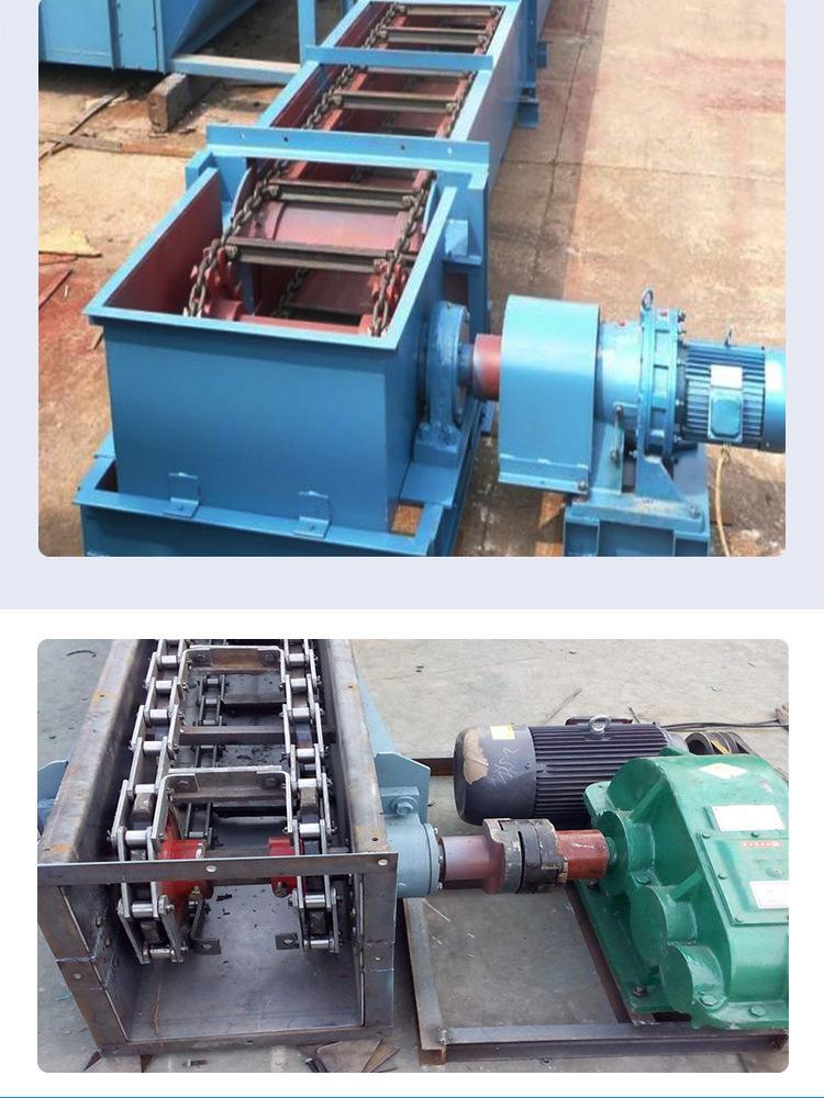 供应煤矿FU链式刮板输送机 效率高拉链输送机