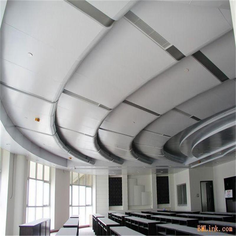 雕刻铝单板吊顶铝扣板施工工艺