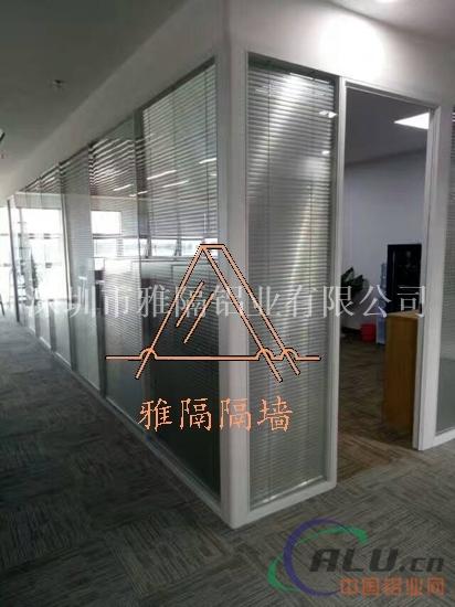 双层玻璃隔断单层玻璃隔断价格
