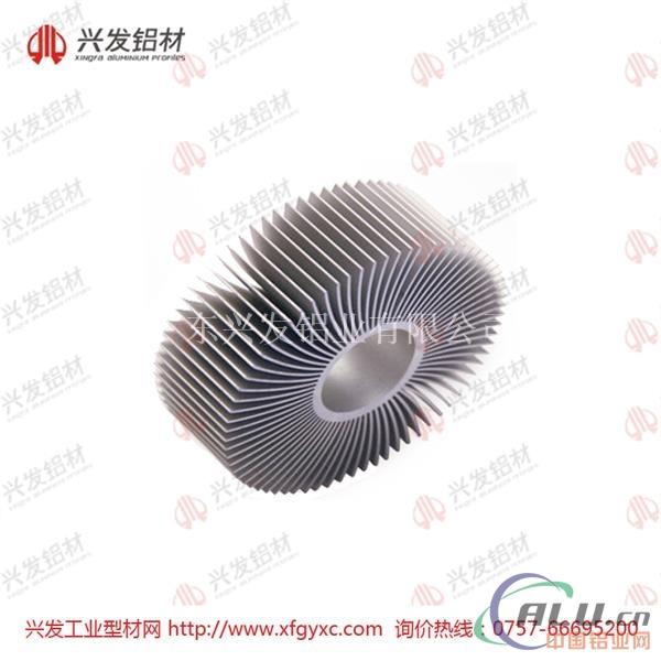 佛山LED灯具散热器铝型材定制生产