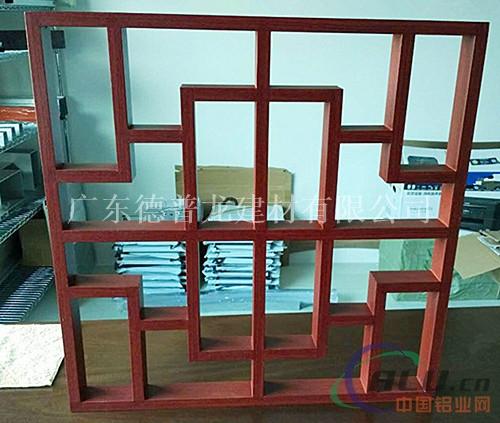 旅游区街道门窗铝窗花_仿古铝合金花格价格