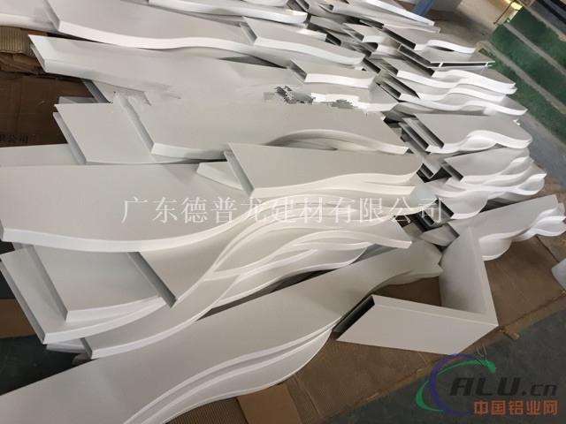 供应杭州酒店大堂异形铝方通吊顶