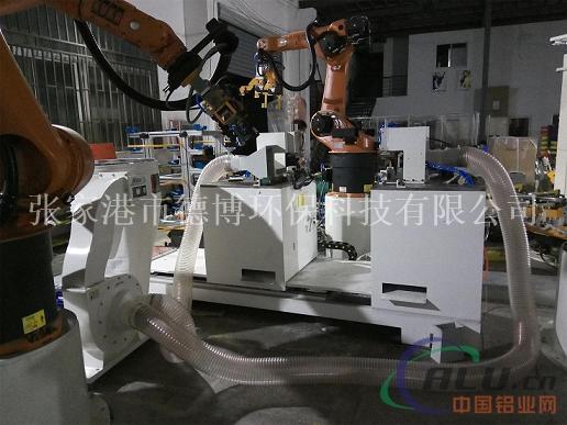 机器人自动锯床吸屑机