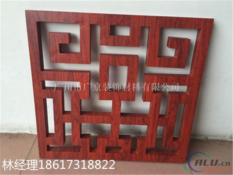 丽江镂空门头雕花铝单板