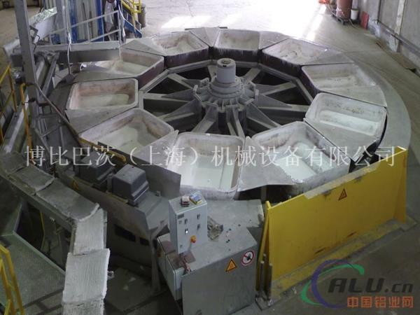 环形浇铸机设备