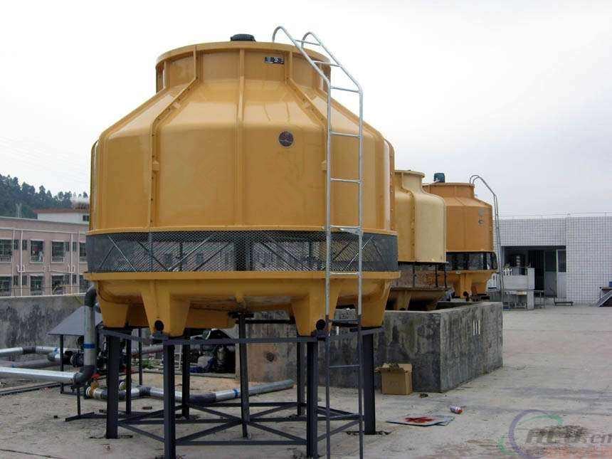 寮步高温型80吨圆形冷却塔