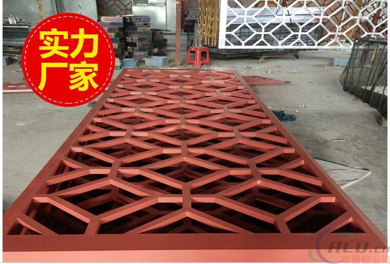 铝板雕刻屏风定制价格