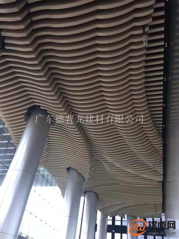 木纹铝方通-造型铝方通厂家直供