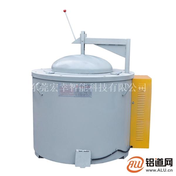 250KG坩埚熔铝炉卖价多少