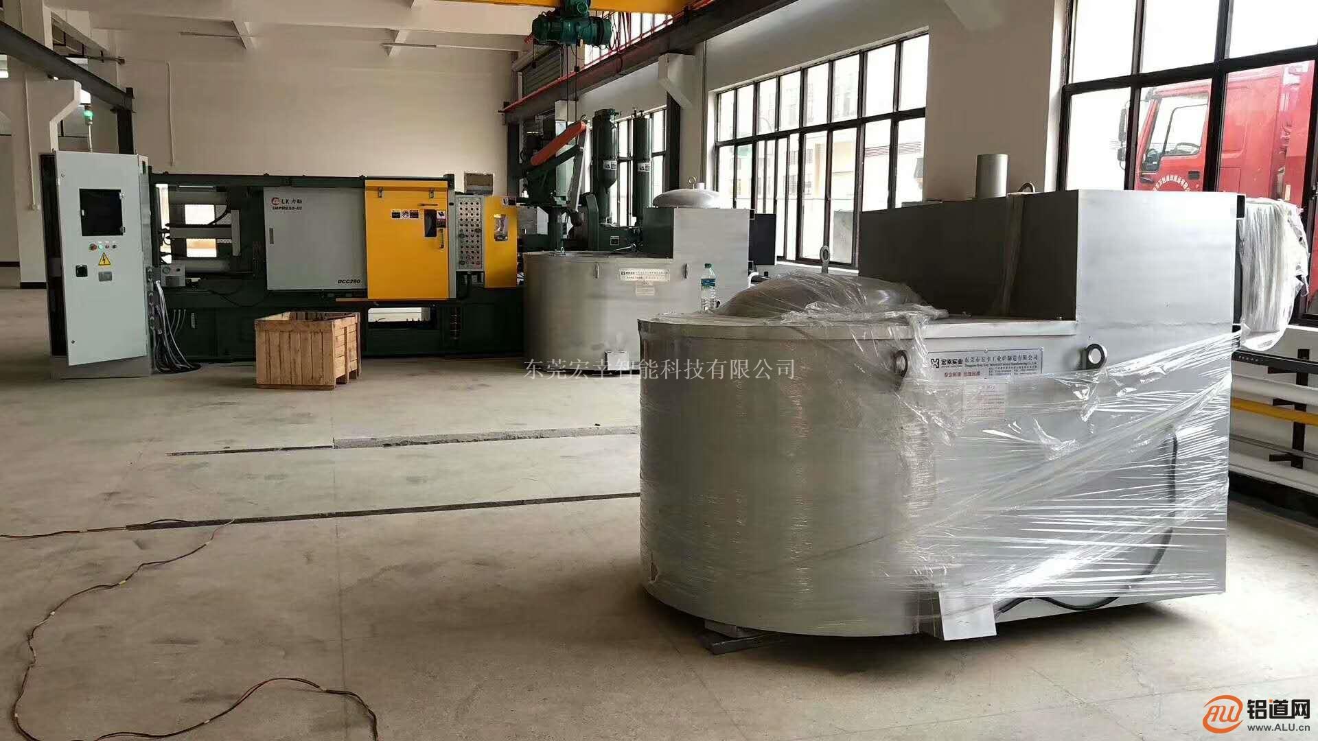 800KG蓄热式熔铝炉 天燃气熔化炉