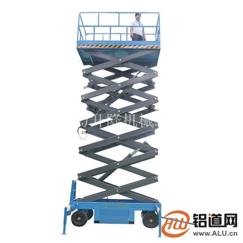 12米升降平台 横县移动升降车直销