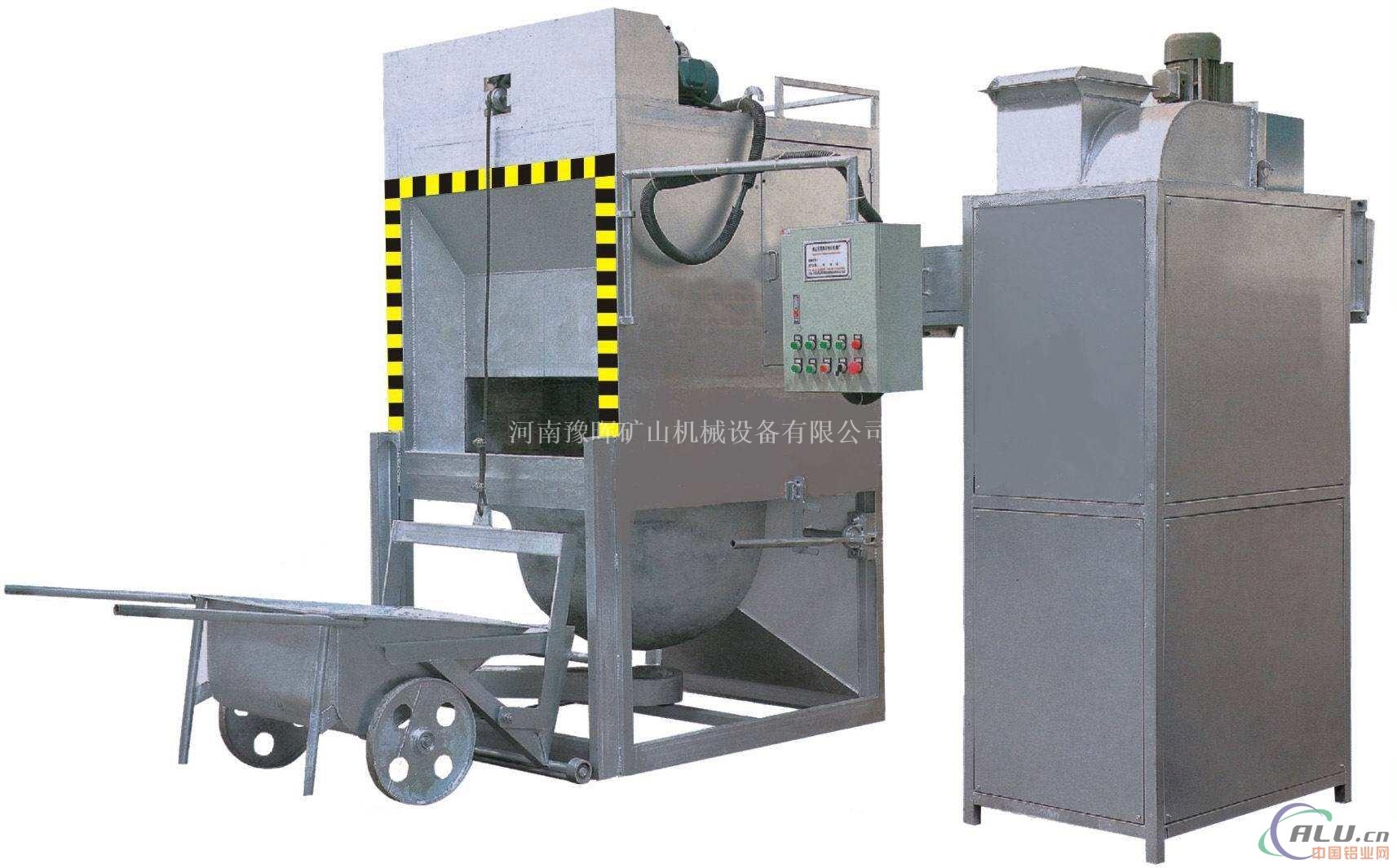 豫晖分析铝灰回收处理的必要性铝灰设备介绍