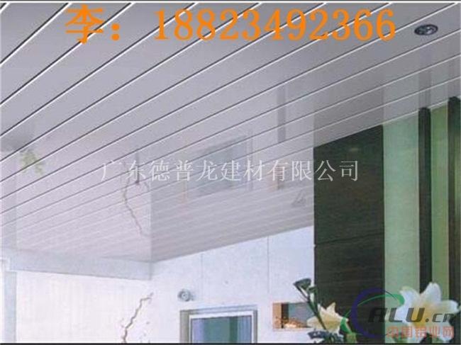 邵阳加油站吊顶白色条形扣板厂家直销