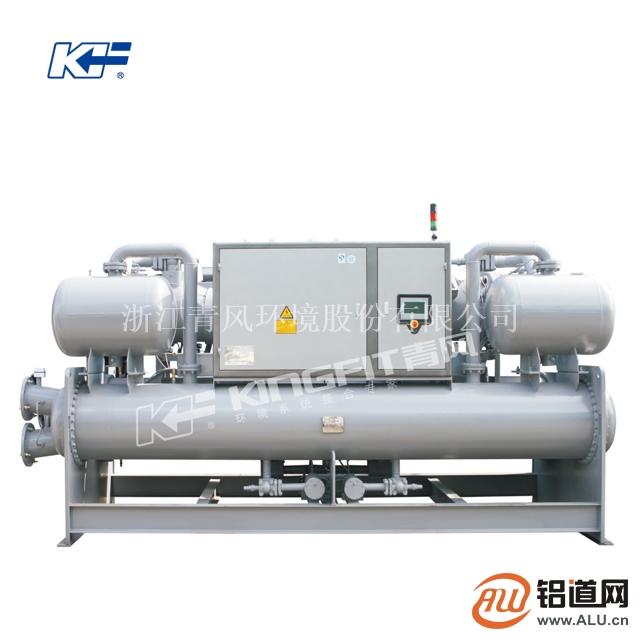 型材氧化直冷高效满液螺杆冷水机