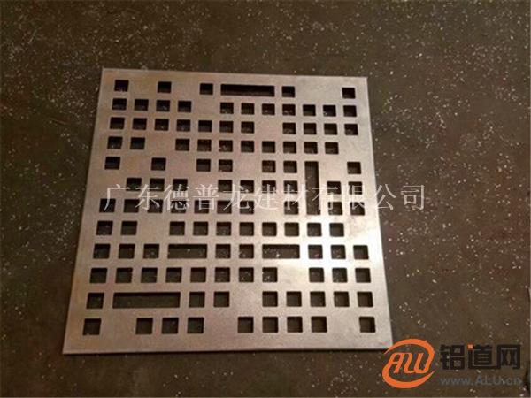 大小孔穿孔铝单板_穿孔铝单板价格