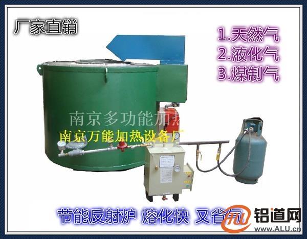 网上优抟提供燃气熔铝炉 节能反射炉