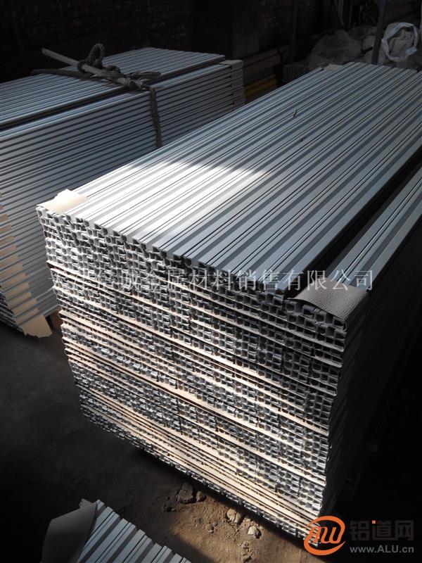 定做供应散热器 异形铝材 异形铝管