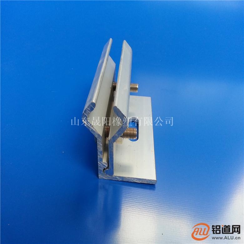 厂家直销彩钢瓦760防滑夹具矮立边夹具