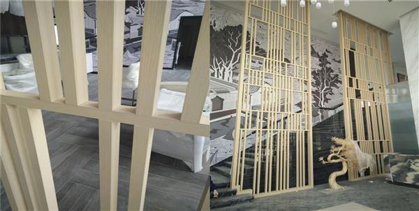 汽车博览会使用定制铝窗花