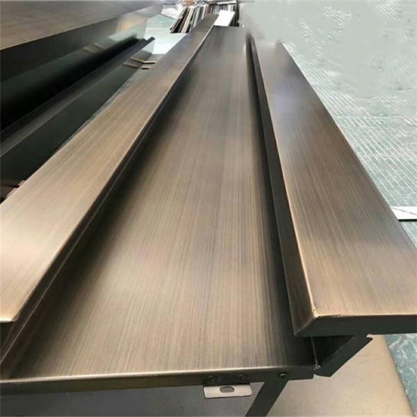 海南仿古铜拉丝铝单板-工艺精湛-长期供应