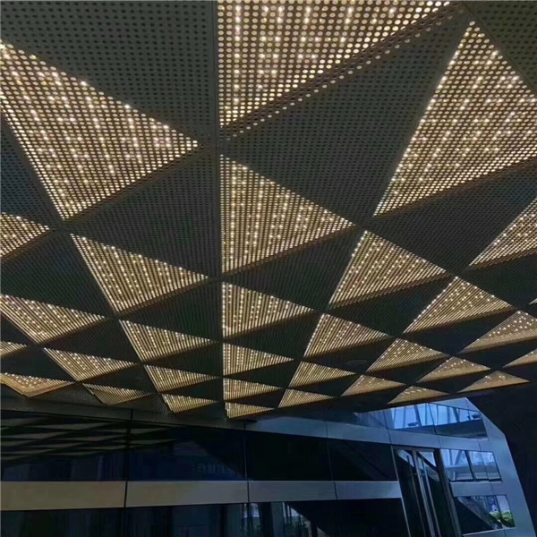 安徽艺术冲孔铝单板-造型铝单板批量定制