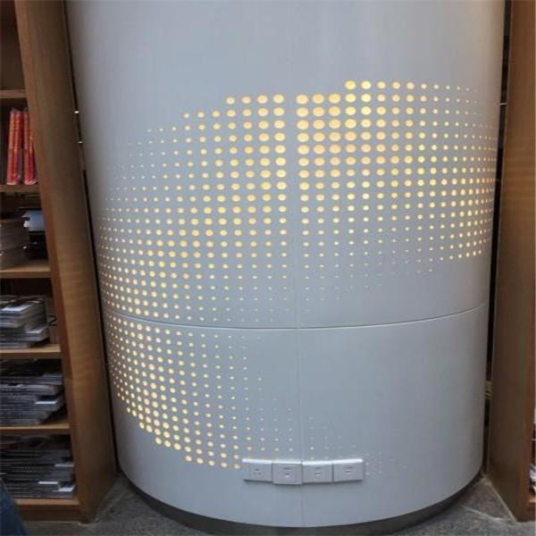鞍山艺术包柱铝单板-弧形铝单板-批量定制