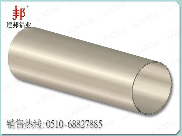 自动化气缸系列常规口径圆管工业型材