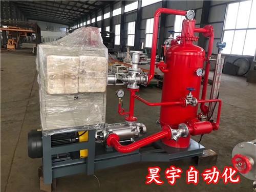 新型蒸汽回收机更方便控制管理