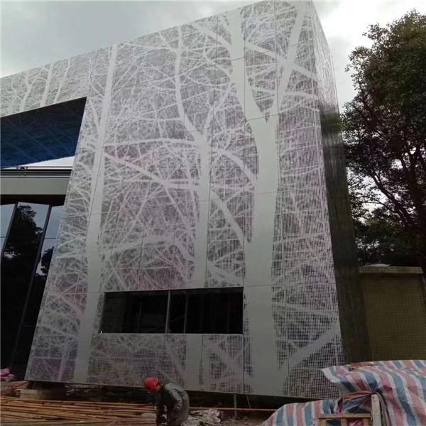 佛山艺术冲孔铝单板-雕花造型铝单板订购