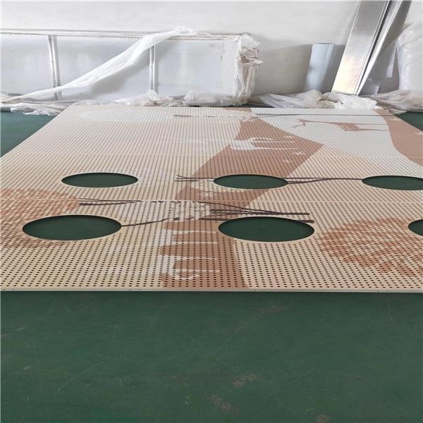 营口3D打印铝单板-彩色和图案铝单板定制
