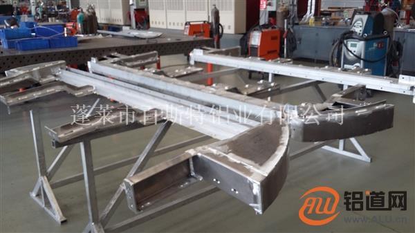 电力设备铝合金框架焊接