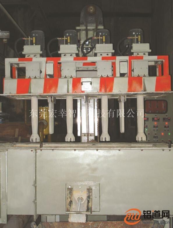 三转子铝液在线除气机 铝溶液流体净化机