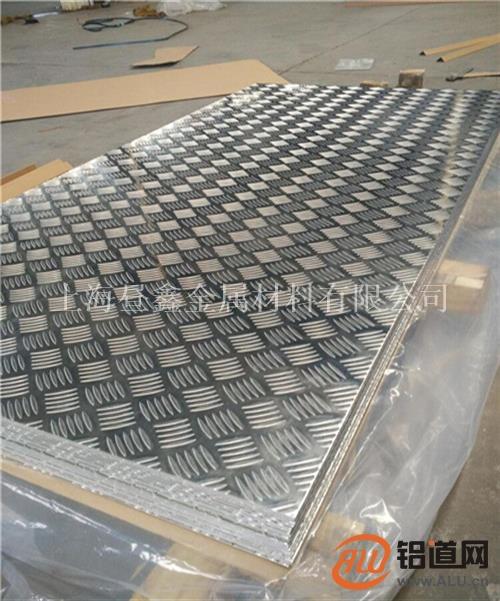 防滑铝材1060五条筋花纹铝板