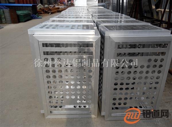 铝合金空调防护网 合金铝板定制空调防护网