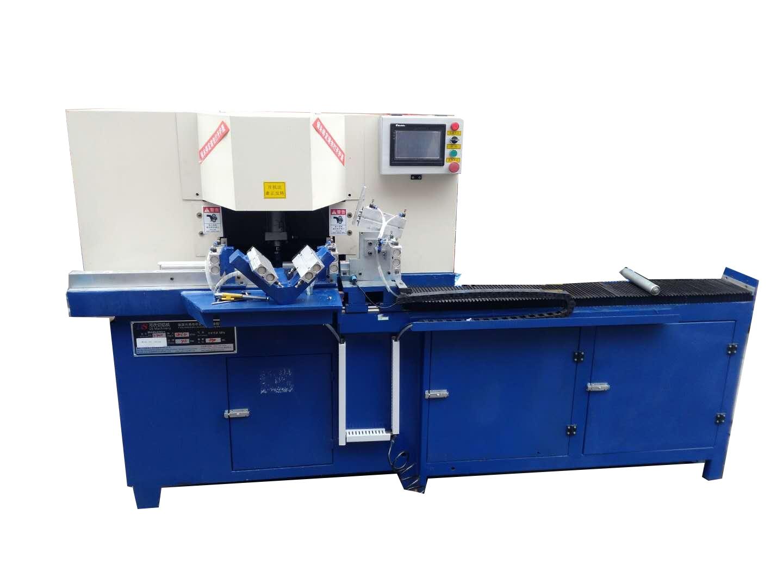 邓氏机械45度铝合金切割机  双头切角机