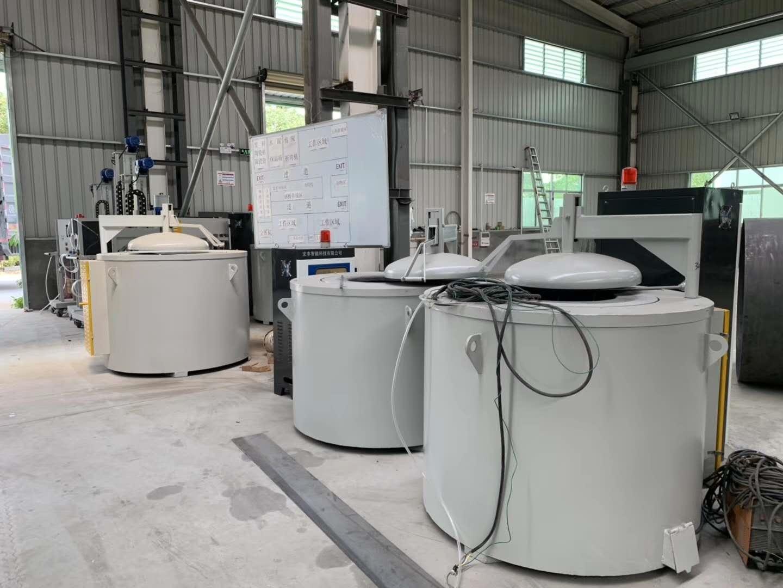 1000KG坩埚式熔铝电阻炉 熔铸炉