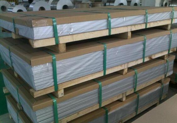 批发6063铝板、国标6082覆膜铝板
