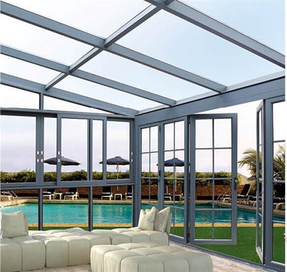 阳光房铝型材,阳光房材料,阳光房成品安装