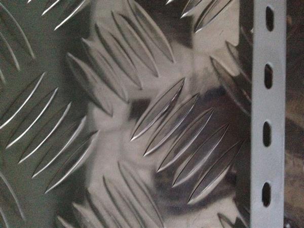 4mm 五条筋花纹铝板 现货