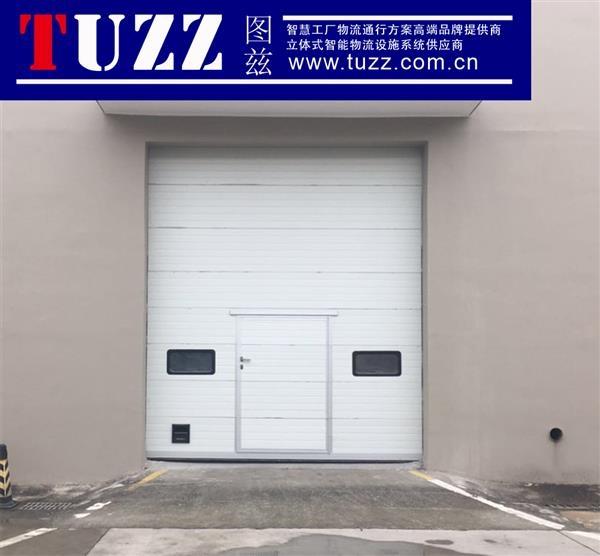 分节式大型提升门,工厂抗强风提升门