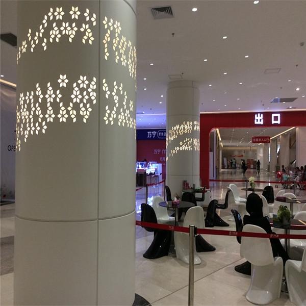 惠州艺术包柱铝单板-引人眼球艺术装饰